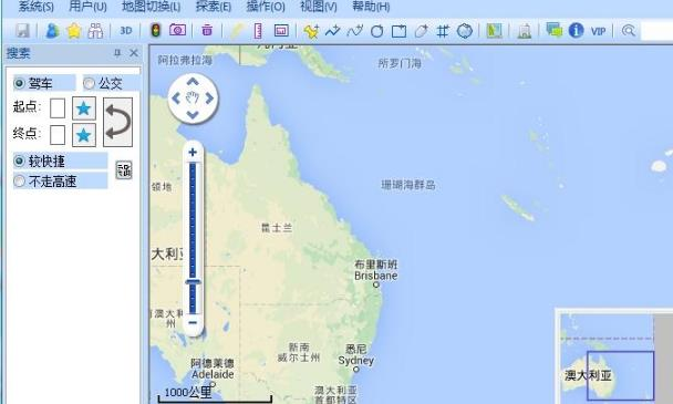 奥维互动地图浏览器绿色版(地图浏览器) v6.7.3 最新版