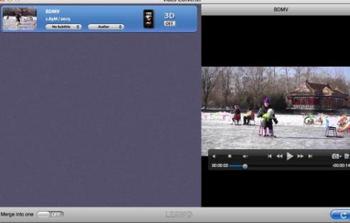 video converter苹果电脑版界面图片