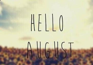 七月再见八月你好QQ表情包下载 迎接美好的八月 带字完整版