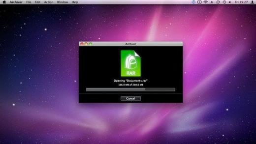 archiver 苹果电脑版界面图片