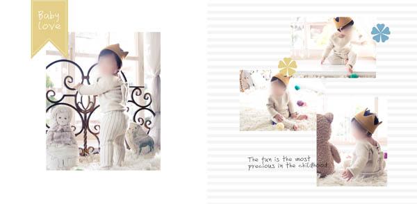 儿童相册在线制作 爱的记忆06