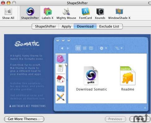 ShapeShifter苹果电脑版界面