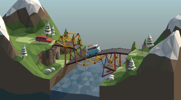 Poly Bridge两项修改器免费版图片