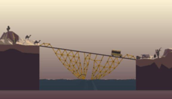桥梁构造者Poly Bridge2-1通关方法