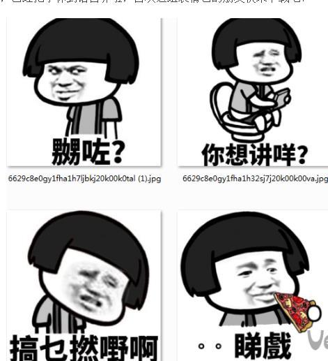 蘑菇头粤语粗口搞笑表情包最新版v1.0 电脑版