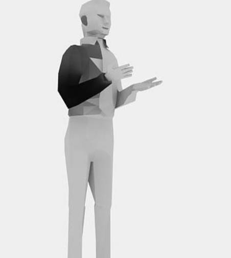 成年男性3Dmax人物模型