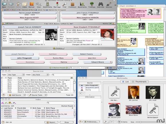 Reunion Mac版界面