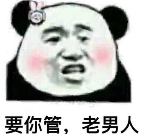 熊猫头臭男人表情包下载图片
