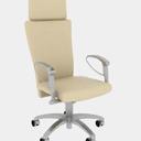 黄颜色办公椅3Dmax材质模型
