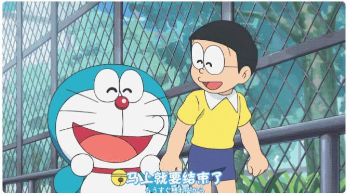 哆啦a梦大象和叔叔动画片(日本战败了那集) 中字版