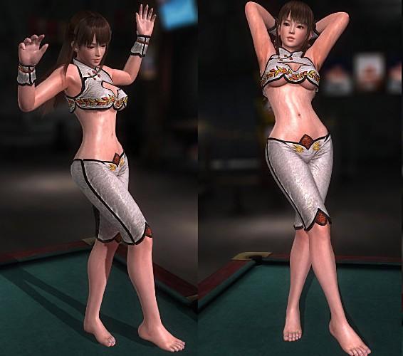 死或生5雷芳裸足古风小背心服装补丁(死或生5雷芳mod) 最新版