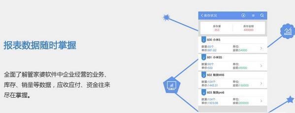 管家婆物联通服务端无数用户手机版v6.22 免注册版