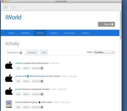 iWorld for Mac