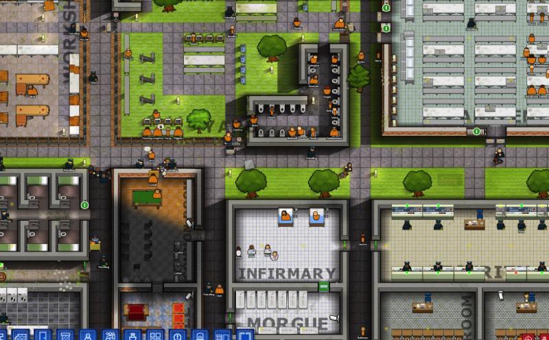 Prison Architect Mac特别版特色