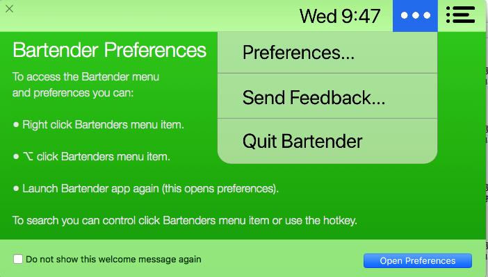 Bartender Mac完美版