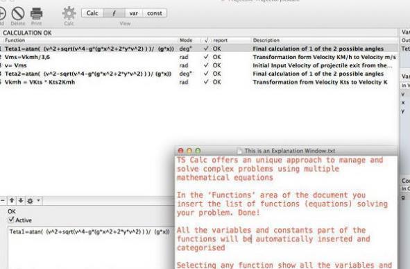 TS Calc for Mac界面