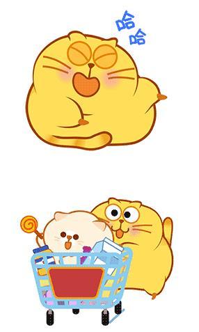 开心猫qq表情包非常适合大家用来斗图使用.图片