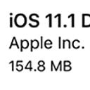 苹果iOS11.1 开发者预览版beta2固件