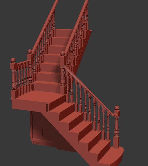 室内会用到转角的楼梯,这样的楼梯应该怎么设计呢?3dmax欧式转角楼梯模型中提供的是一款独特造型的转角楼梯模型,灰色的楼梯看着是那么的精致,精美的呈现在我们的眼前,在这款转角楼梯中还是结合着欧式风格的,正是因为欧式风格的存在才使得楼梯是特别的受欢迎哦!