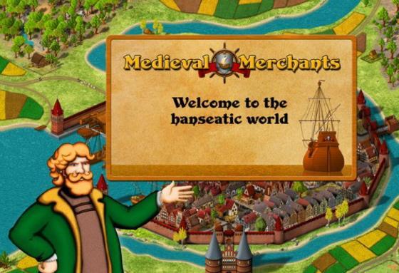 Medieval Merchants for Mac界面