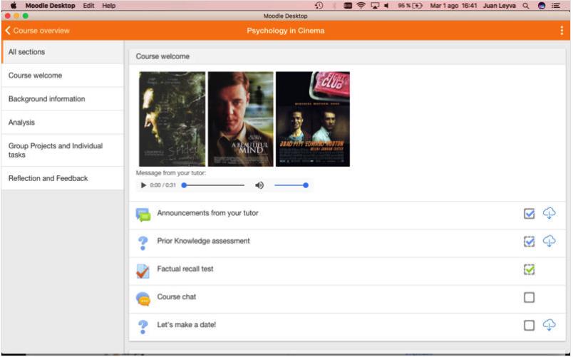 Moodle Desktop Mac版
