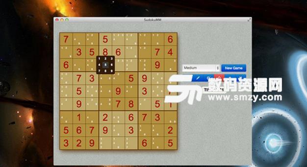 SudokuMM for Mac特色