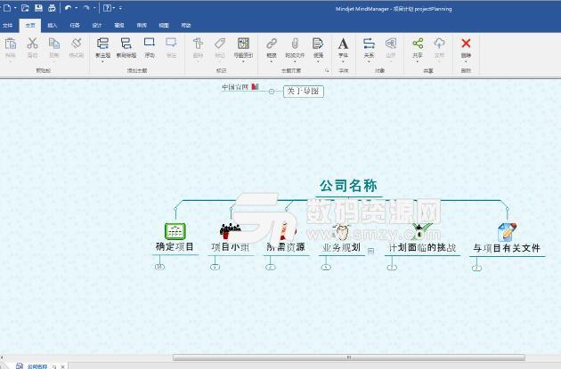 MindManager 2018思维导图软件中文版截图