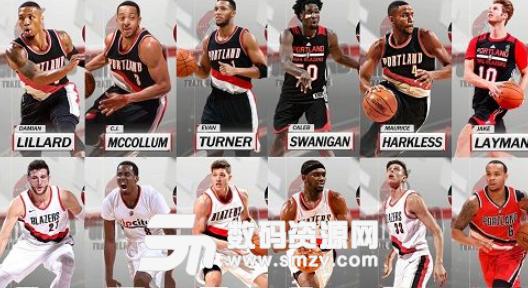 NBA2K18开拓者全队球员高清照片补丁下载 NBA2K18MOD v1.0 最新图片