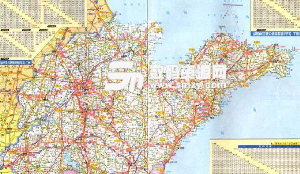 山东省高速公路地图高清版下载免费版