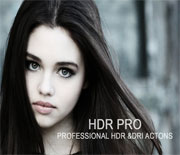 HDR照片后期调色动作