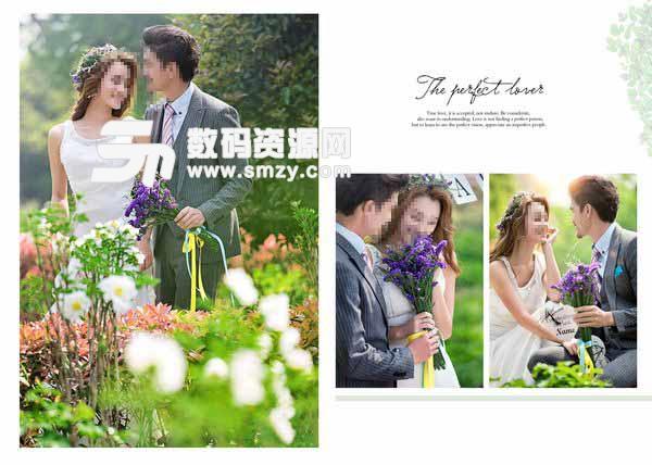 婚纱摄影模板 完美恋人 10