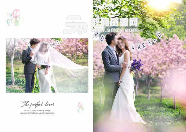 婚纱摄影模板 完美恋人 11