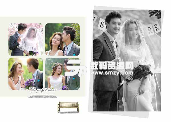 婚纱摄影模板 完美恋人 12