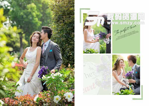 婚纱摄影模板 完美恋人 13
