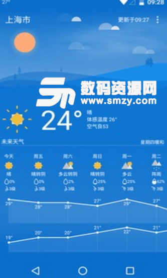 Holi天气安卓版