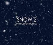 15个高品质下雪效果PS笔刷