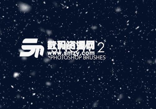 15个高品质下雪效果PS笔刷下载