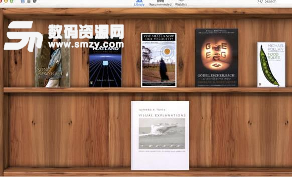 Delicious library苹果电脑版特色