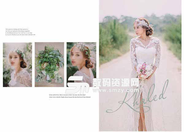 婚纱照相册模板 物语 05
