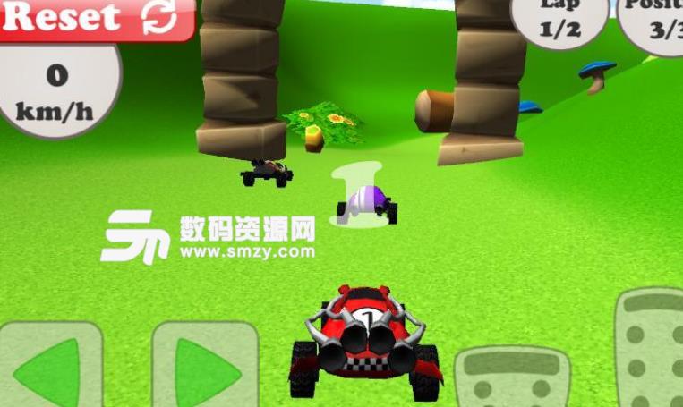 越野车拉力赛3D手机版截图