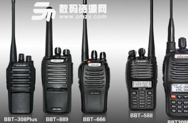 百变通BBT388对讲机写频软件