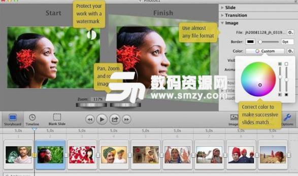 ==Boinx FotoMagico Pro Mac版界面