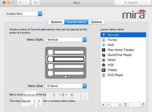 Mira苹果电脑版界面