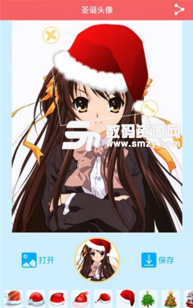 圣诞帽头像生成器苹果版(圣诞主题头像制作) v1.1 iOS版