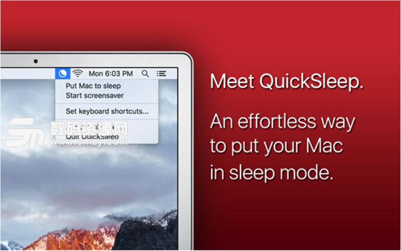 QuickSleep Mac版特色
