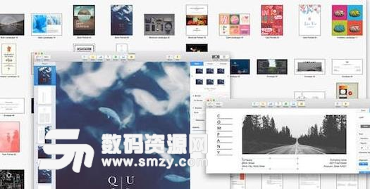 Templates for Pages Mac版特色