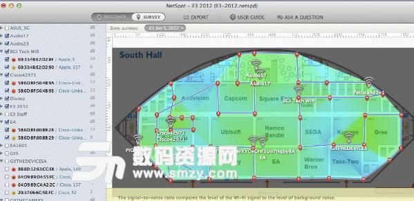 NetSpot苹果电脑版界面