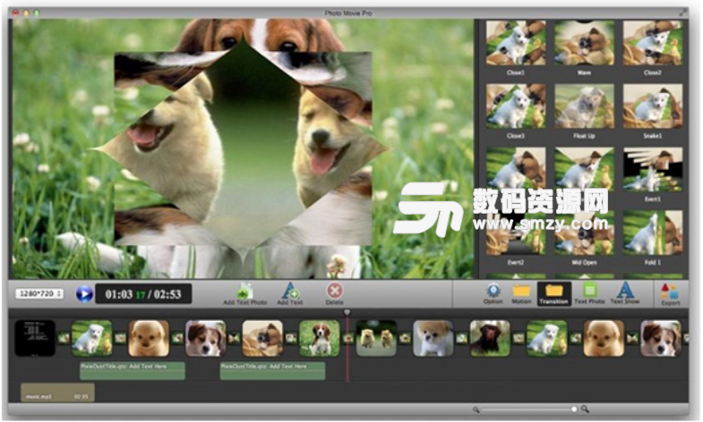 Photo Movie Pro Mac版特点