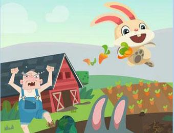 抖音上兔子吃胡萝卜的游戏叫什么.