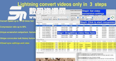 Thunder Video Converter Pro for Mac界面